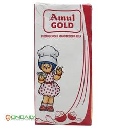 Amul Gold Homogenized Milk, 500 ml Carton - Ondaily.in