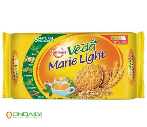 Sunfeast Veda Marie Light Biscuits, 250 g - Ondaily.in