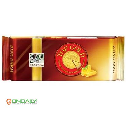 Bisk Farm Biscuits - Top Gold, 200 g - Ondaily.in