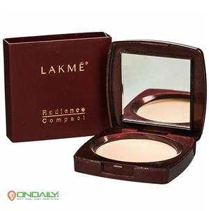 Lakme Radiance Compact Natural Coral For Wheatish To Dusky Skin 9 g - Ondaily.in