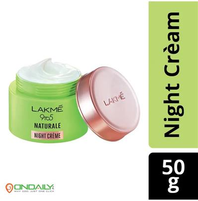 Women 9 to 5 Naturale With Pure Aloe Vera Night Creme 50g - Ondaily.in