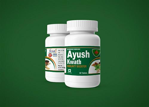 Ayush Kwath Tablet (Immunity Booster) - ALKA AYURVEDIC PHARMACY